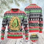 Tacos Lovers Gift Nachos Throne Knitted Sweater