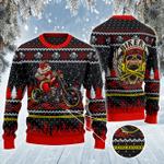 BIKER, MOTORCYCLE, biker All Over Print Sweater