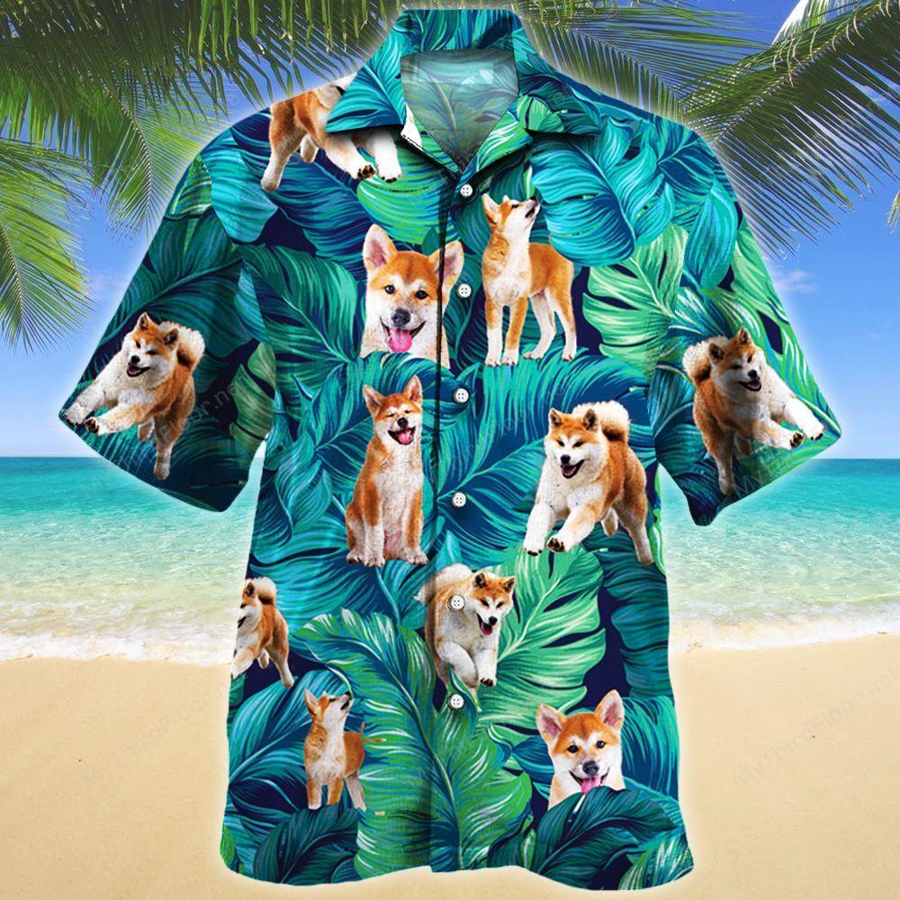 Akita Dog Lovers Gift Hawaii Shirt