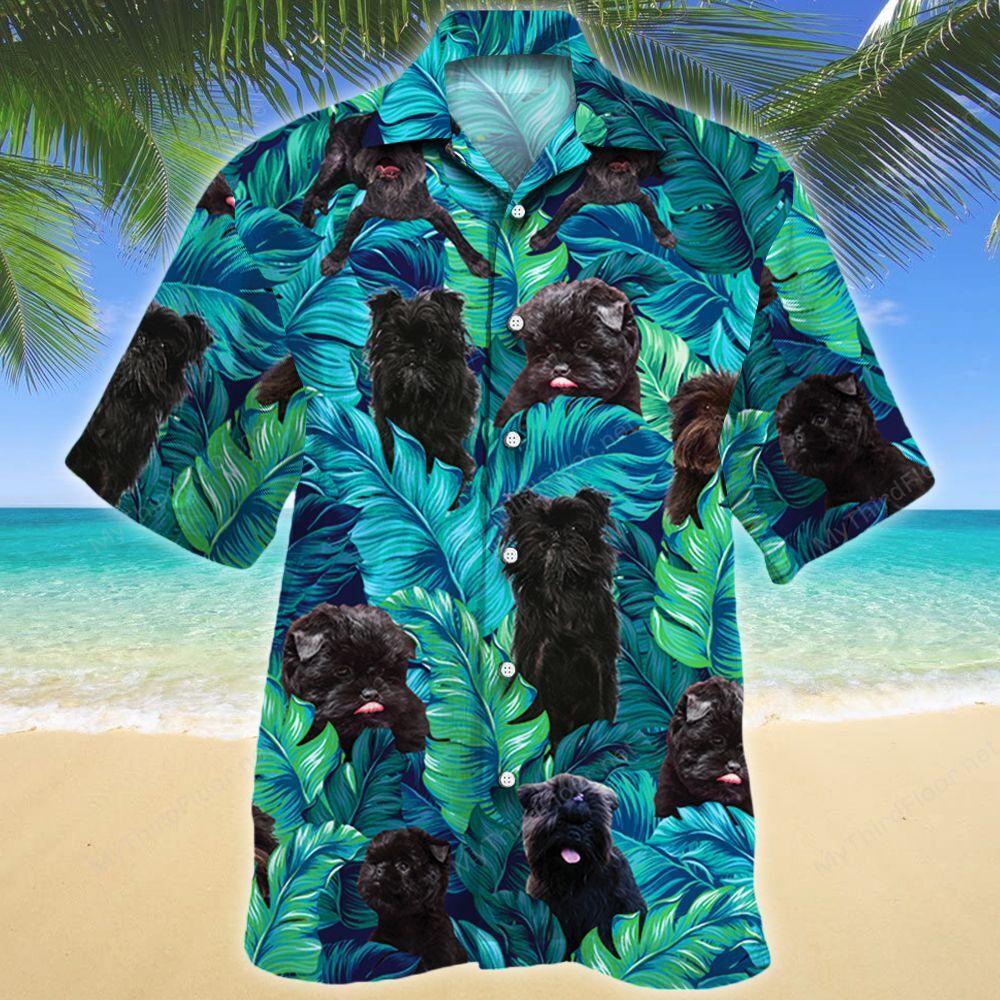 Affenpinscher Dog Lovers Hawaii Shirt