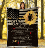 Personalized Blanket To My Wife The Day I Met You, You Complete Me Fleece Blanket - Spreadstores