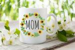 Mom Mug, Mother's Day Gift, Sunflower Mug, Mommy Mug, Push Present, Funny Mom Gifts, First Time Mom Mug - Spreadstores