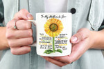 Mother Mug, Mom Mug, To My Mother-in-law You Are A Sunflower Mug, Mother's Day Gift - Spreadstores