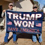 Trump Won Flag, Trump Flag - Save America Flag MN2007 - Spreadstores