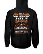 Veteran Hoodie, I'm A Grumpy Old Man, I Was Born In July, Birthday Gift Idea Veteran Sweatshirt - Spreadstores