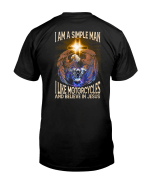 Veteran Shirt, Christian Shirt, I Am A Simple Man I like Motorcycles And Believe In Jesus KM2907 - Spreadstores