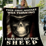 Veteran Blanket, Your First Mistake Was Thinking I Was One Of The Sheep Sherpa Blanket - Spreadstores