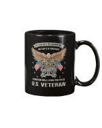 Vintage US Veteran American Veteran's Day DD-214 Gift Mug - Spreadstores