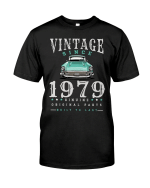 Vintage Car Since1979, Birthday Gifts Idea, Gift For Her For Him Unisex T-Shirt KM0804 - Spreadstores