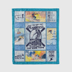 You Can't Buy Happiness Skiing Which Is Pretty The Same Thing Fleece Blanket - Spreadstores