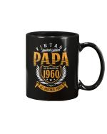 Vintage 60th Birthday Papa Gift Since 1960 Dad Mug - Spreadstores