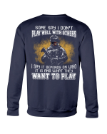 What They Want To Play Crewneck Sweatshirt - Spreadstores