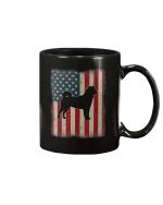 Vintage American Flag Shiba Inu Dog Lover Mug - Spreadstores