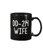 Women's Vintage DD-214 Wife Military Veteran Mug - Spreadstores