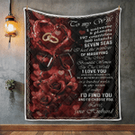 Wife Blanket, Gifts For Her, To My Wife, I'd Find You And I'd Choose You Quilt Blanket - Spreadstores