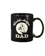 World's Okayest Dad Fathers Day Mug - Spreadstores