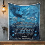 Wife Blanket, Gifts For Her, To My Wife, The Day I Met You I Found My Missing Piece Quilt Blanket - Spreadstores
