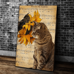 You Are My Sunshine Cat Matte Canvas - Spreadstores