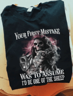 Your First Mistake Was To Assume I'd Be One Of The Sheep T-shirt HA1506 - Spreadstores