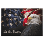 We The People - Eagle American Flag Canvas - Spreadstores