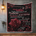 Wife Blanket, Gifts For Her, To My Gorgeous Wife, You're Always On My Mind Quilt Blanket - Spreadstores