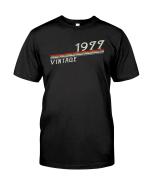 Vintage 1977 Shirt, 1977 Birthday Shirt, Birthday Gift Idea, Vintage 1977 V4 Unisex T-Shirt KM0405 - Spreadstores