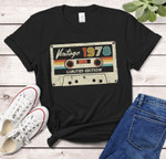 Vintage 1978, Limited Edition Birthday Gift Shirt, 43rd Birthday Vintage Shirt, Gift For Her For Him Unisex T-Shirt KM0904 - Spreadstores