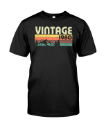 Vintage 1980 V3, 41st Birthday Gifts For Him For Her, Birthday Unisex T-Shirt KM0704 - Spreadstores