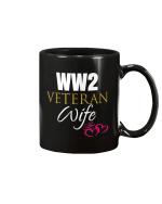 WWII Veteran Wife, Gift For Veteran Wife Mug - Spreadstores
