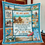 Wife Quilt, Gifts For Her, You Are My Queen Forever, You & Me We Got This Quilt Blanket - Spreadstores