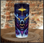 Wolf 3D Tumbler, Best Gift Idea, Gift For Dad, Father's Day Gift Idea Stainless Steel Tumbler - Spreadstores