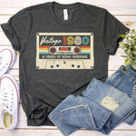 Vintage 1980 T-Shirt Made In 1980 41st Birthday, 41 Years Of Being Awesome T-Shirt - Spreadstores