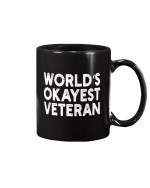 World's Okayest Veteran Mug - Spreadstores