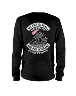 We Owe Illegals Nothing And Our Veterans Long Sleeve - Spreadstores