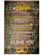 Wife Canvas, Valentine's Gift, To My Wife I Didn't Plan On Falling In Love With You Vintage Canvas - Spreadstores