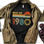 Vintage 1980 Birthday Shirt, 41st Birthday Gifts Shirt, Gift For Him For Her, Best Of 1980 Unisex T-Shirt - Spreadstores