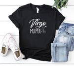 Vintage Virgo Zodiac Shirt, Virgo Mama Birthday, Astrology Shirt, Birthday Gift For Her Unisex T-Shirt - Spreadstores