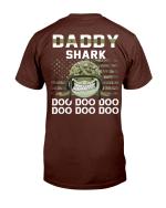 Veterans Shirt Daddy Shark Doo Doo Doo T-Shirt - Spreadstores