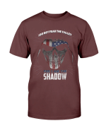 Veterans Shirt I Don't Fear The Valley I Am The Shadow T-Shirt - Spreadstores