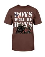 Veterans Shirt Boys Will Be Boys T-Shirt - Spreadstores