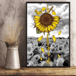 Veterans Sunflower Poster You Are My Sunshine 24x36 Poster - Spreadstores