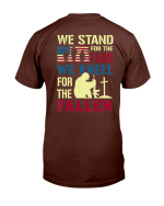 Veterans Shirt We Stand For The Flag We Kneel For The Fallen T-Shirt - Spreadstores