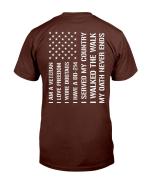 Veterans Shirt I Am Veteran I Love Freedom I Have A DD-214 T-Shirt - Spreadstores