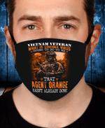Veterans Face Cover - Vietnam Veteran Agent Orange Hasn't Already Done - Spreadstores