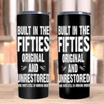 Veteran Tumblers, Gifts For Dad, Built-In The Fifties Original And Unrestored Skinny Tumbler - Spreadstores