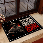 Veteran Welcome Rug, Tyranny Will Soon Force Some Good Men To Fulfill A Dangerous Oath Doormat - Spreadstores