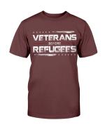 Veterans Before Refugees, Gift For Veteran T-Shirt - Spreadstores