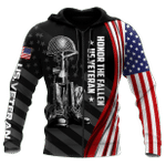 Veteran Zipped Hoodie, If You Haven't Risked Coming Home Under A Flag All Over Printed Zipped Hoodie - Spreadstores