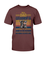 Veterans Shirt - I'm A Dad Grandpa And A Veteran T-Shirt, Gifts For Veteran Dad - Spreadstores