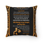 Veterans Mom Pillow, To My Mom For All The Times That I Forgot To Thank You Pillow, Gift For Mother's Day From Son - Spreadstores